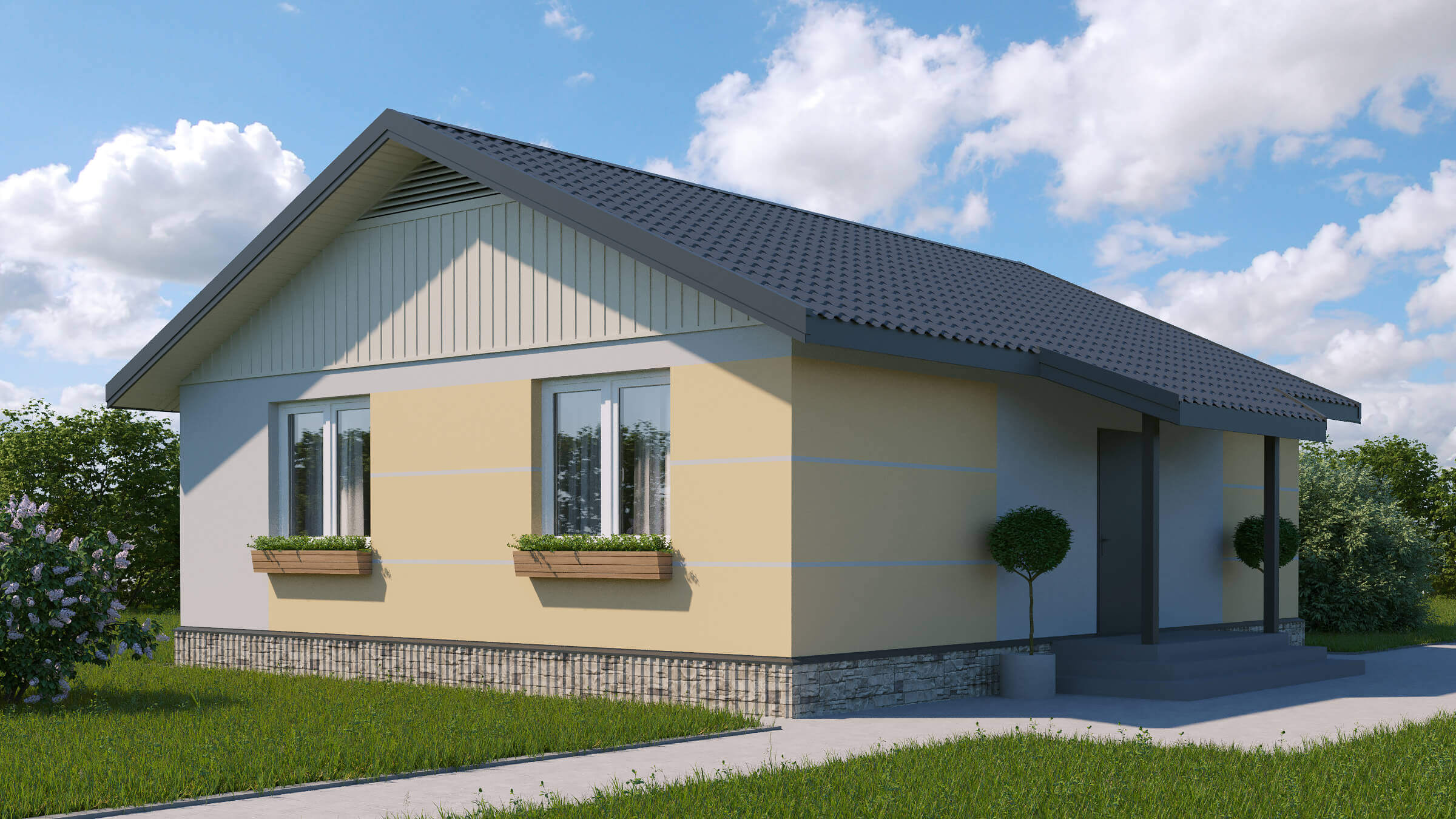 Разработали проект арендного дома
