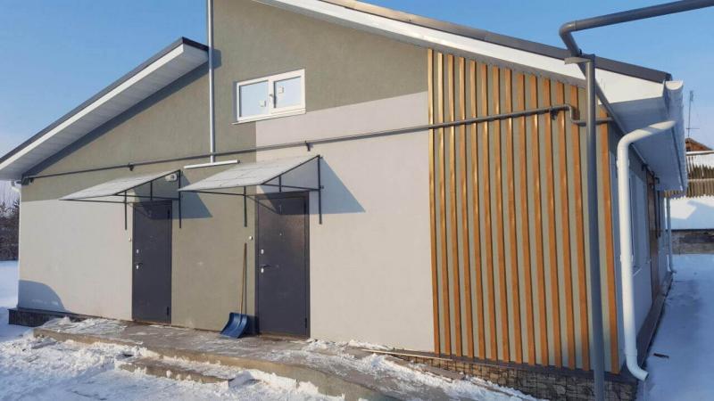 4 квартирный жилой дом по ул.Пионерская,1 в г.Болгар