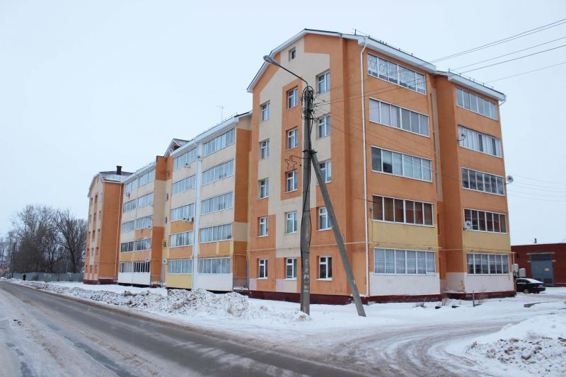 63 квартирный жилой дом по ул.Мебельная,8 в г.Чистополь