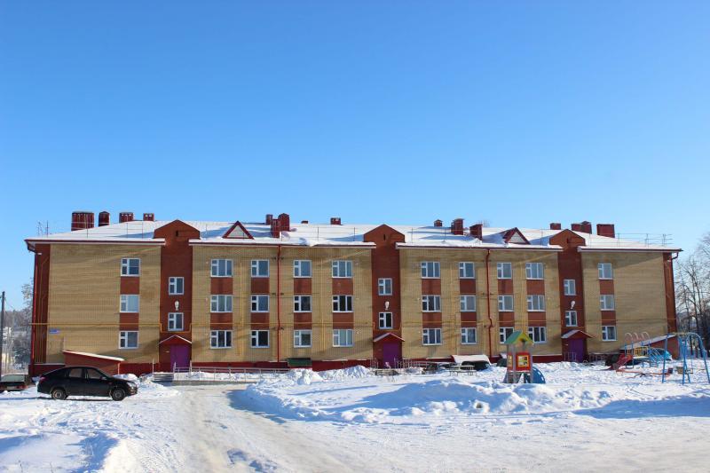 27 квартирный жилой дом по ул.Пролетарская 2В в селе Большая Атня