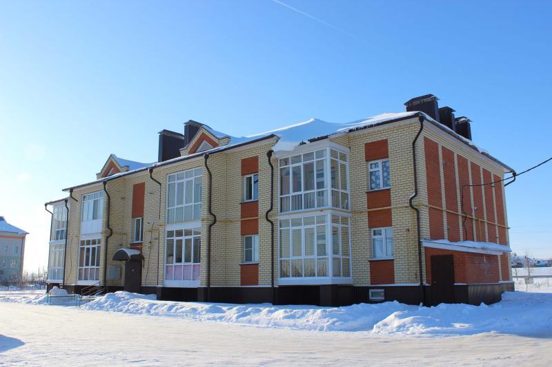 14 квартирный жилой дом по ул.Пролетарская в селе Большая Атня