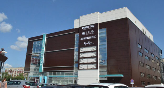 Торговый центр Тандем-Галерея по ул.Ибрагимова, 56А