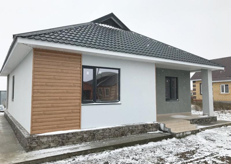 1 квартирный жилой дом по ул.Яшьлек в селе Большая Атня