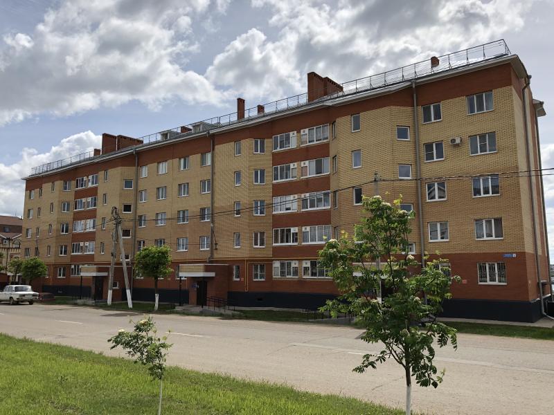 60 квартирный жилой дом по ул.Интернациональная, 5 в г.Арск