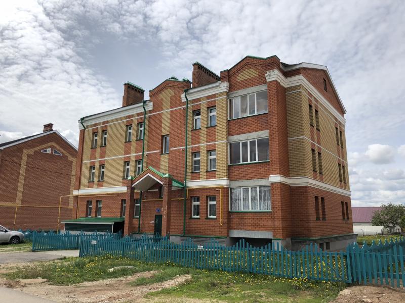 12 квартирный жилой дом по ул.Джалиля,7 в г.Арск