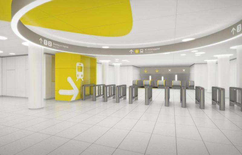 Отделочные работы на станции метро Солнцево, г.Москва