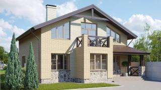 Разработали проект кирпичного дома