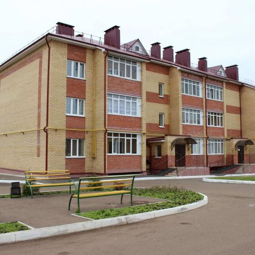 24 квартирный жилой дом по ул.Вахитова,81 в г.Чистополь