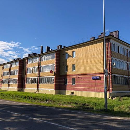 27 квартирный жилой дом по ул.Советская в селе Усады