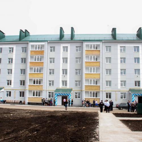 50 квартирный жилой дом по ул.Циолковского в г.Бугульма