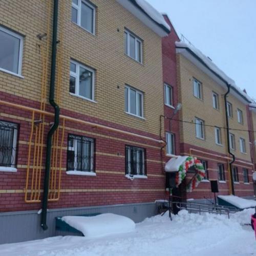 27 квартирный жилой дом по ул.Шоссейная в селе Бирюли