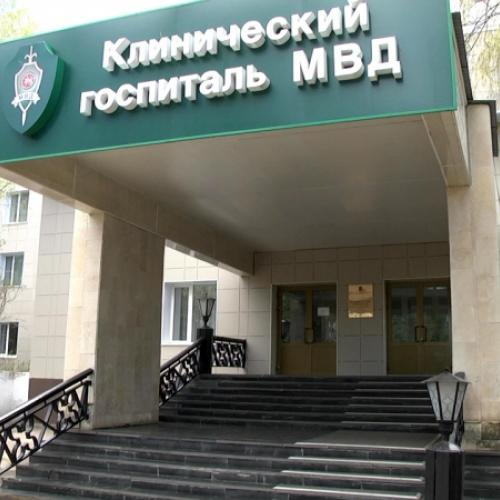 Ремонтные работы в главном здании клинического госпиталя МСЧ МВД России по РТ